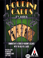 Houdini Cards ( Astor Magic )