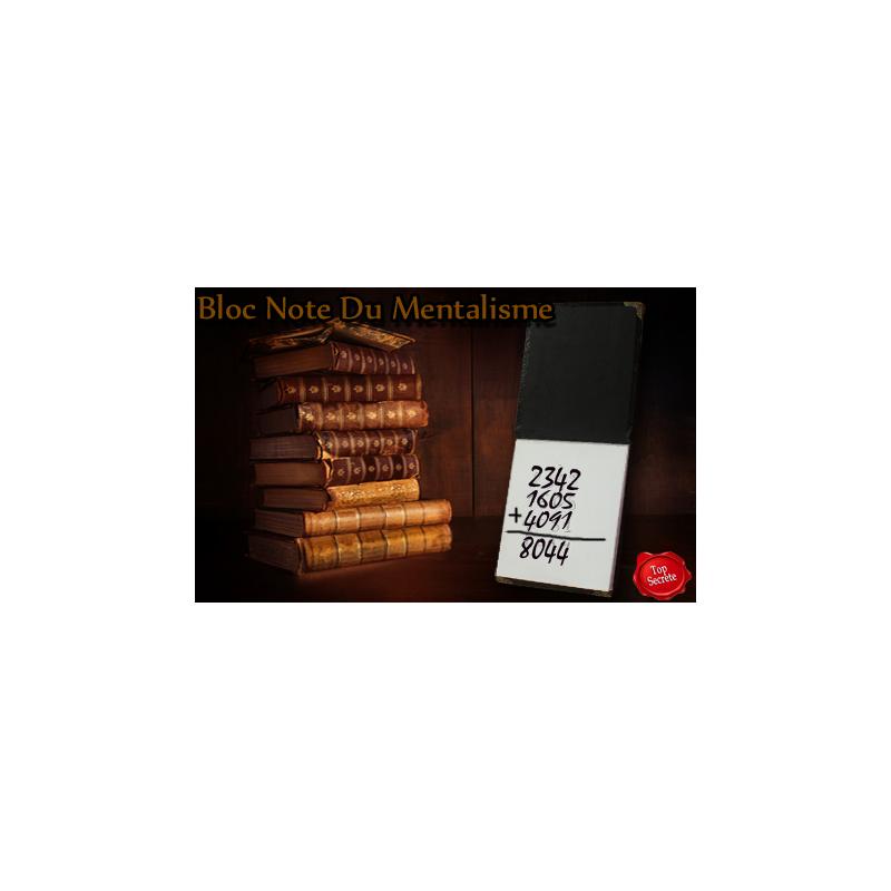 Bloc Note Du Mentaliste 20