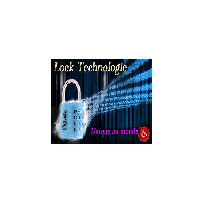 Lock Technologie - Cadenas unique au monde - Jerome Canolle