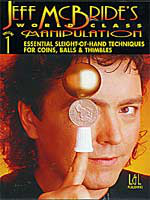 Dvd  World Class Manipulation Vol 1  ( Jeff Mc Bride )!!!