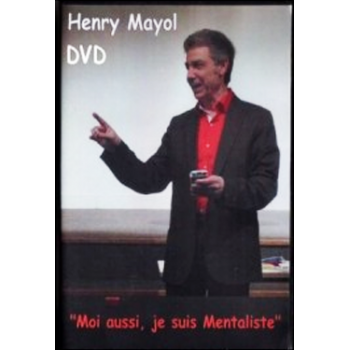 DVD Moi aussi je suis mentaliste ( Henry Mayol )