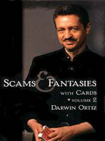 DVD A1 Darwin Ortiz Scams Fantasies With Cards Vol 2