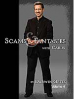 DVD A1 Darwin Ortiz Scams Fantasies With Cards Vol 4