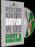 DVD Psychokinetic Silverware ( Gerry And Banachek )