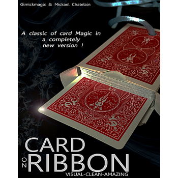 Card on ribbon rouge ( Michael Chatelain )