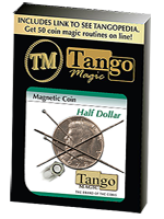 Magnetic coin (pièce magnétique) 1/2 dollar (tango)
