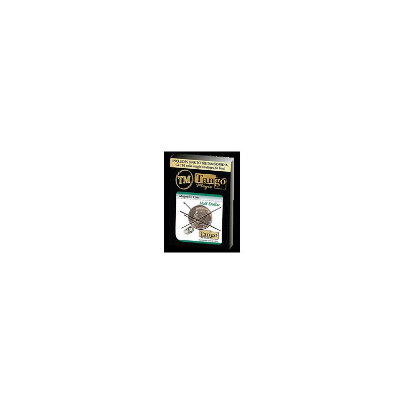 Magnetic coin (pièce magnétique) 1/2 dollar (tango)