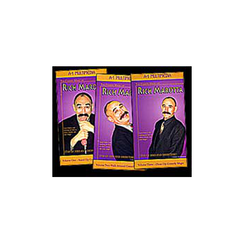 DVD A1 Rich Marotta VOL1  ou vol 2 ou vol 3