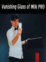 Vanishing Glass of Milk PRO (Gimmicks and Stand included)  ( Bazar de Magia  )