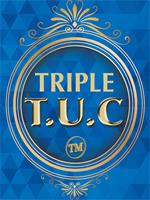 Triple TUC Half Dollar (Gimmicks and Online Instructions)  Tango