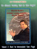 DVD A1 David Roth's expert Coin Magic Mage Esay vol 2