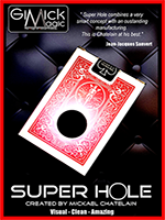 SUPER HOLE rouge ( Mickael Chatelain )