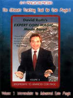DVD A1 David Roth's expert Coin Magic Mage Esay vol 3