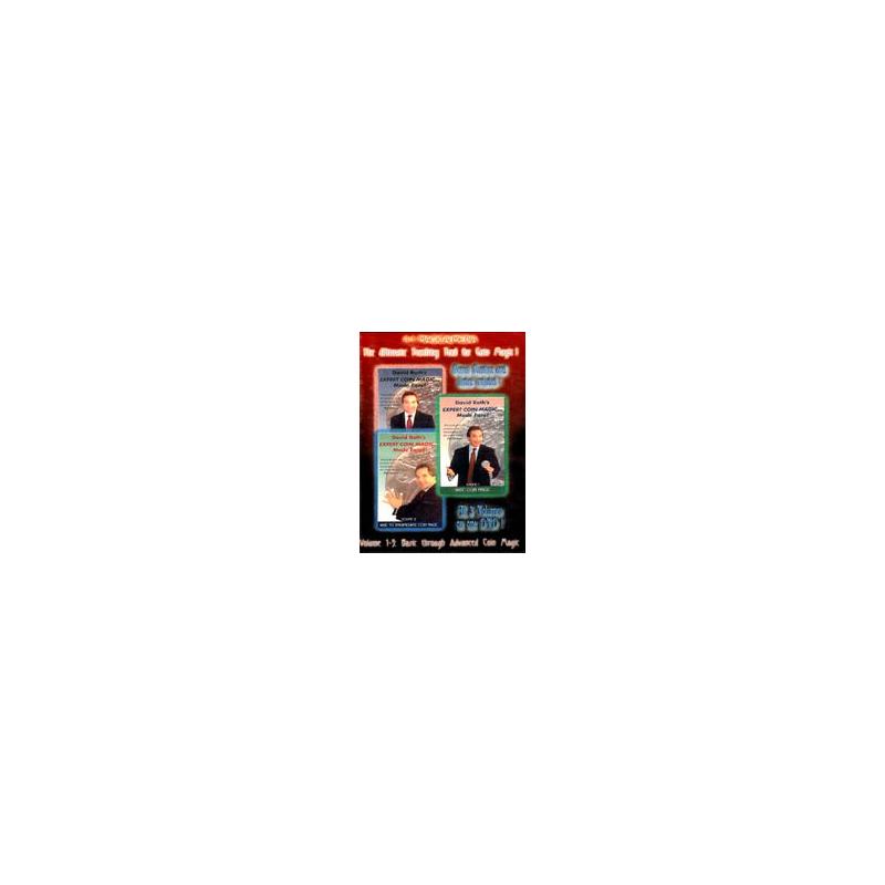 DVD A1 David Roth's expert Coin Magic Mage Esay vol 1-2-3