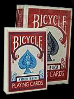 Mini Jeu de carte Bicycle Rouge