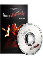 DVD techni Metal Torsion - Serge Arkhan