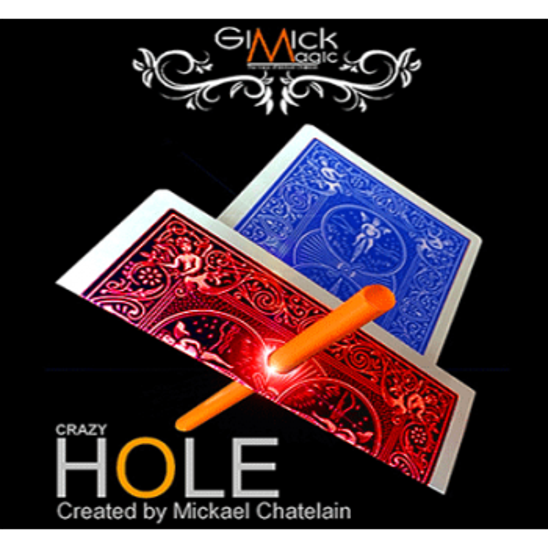 CRAZY HOLE Bleu Mickael Chatelain