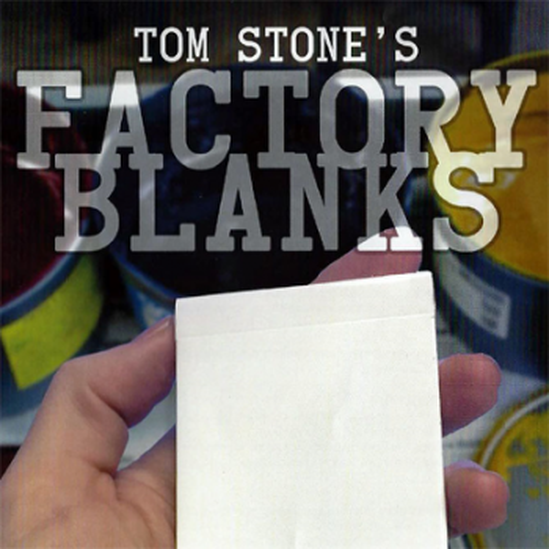 Factory Blanks Tom Stone - Card Shark