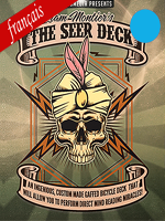 The seer deck ( Bicycle Bleu ) Liam montier