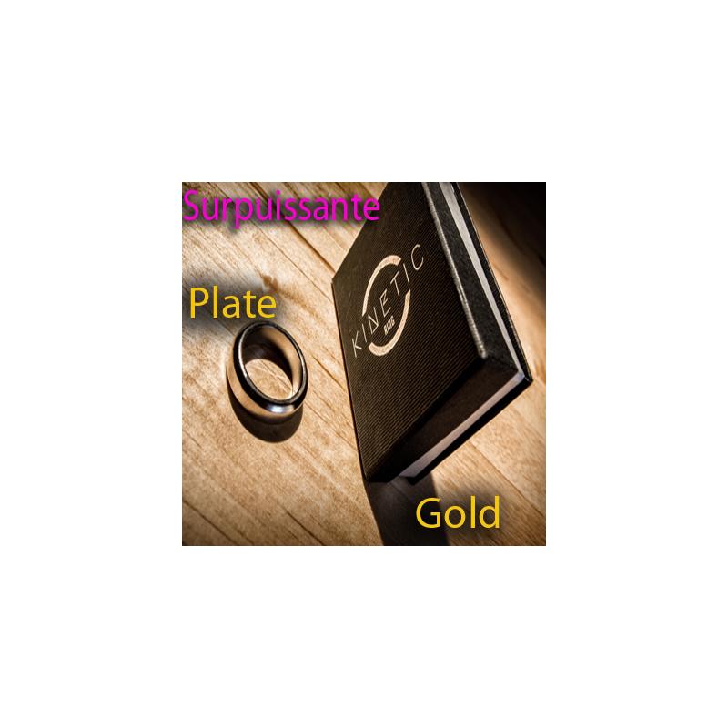 Bague Aimantée 8 - Kinetic PK Ring (Gold Beveled 17,70 mm )