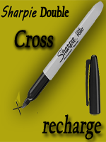 Sharpie double cross (Refill)