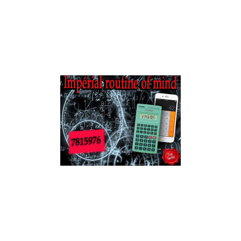 Impérial routine of mind ( Téléchargement )