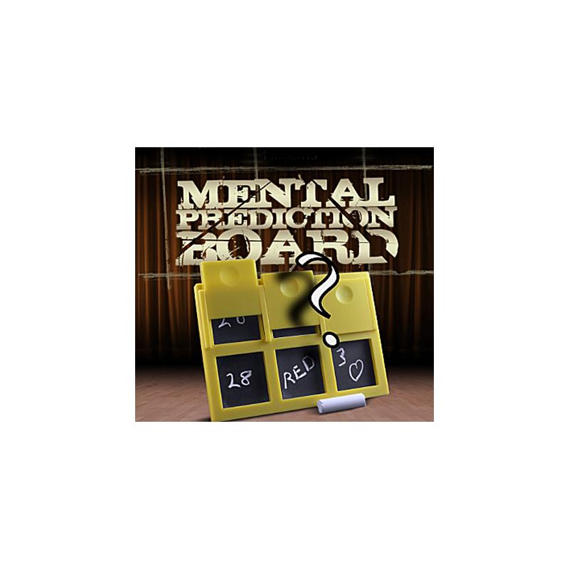Ardoise à Prédiction Poche - Mental Epic jaune