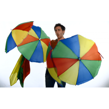 Productions de parapluies au foulards