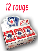 Cartouche bicycle ancien etui (12 Rouge )