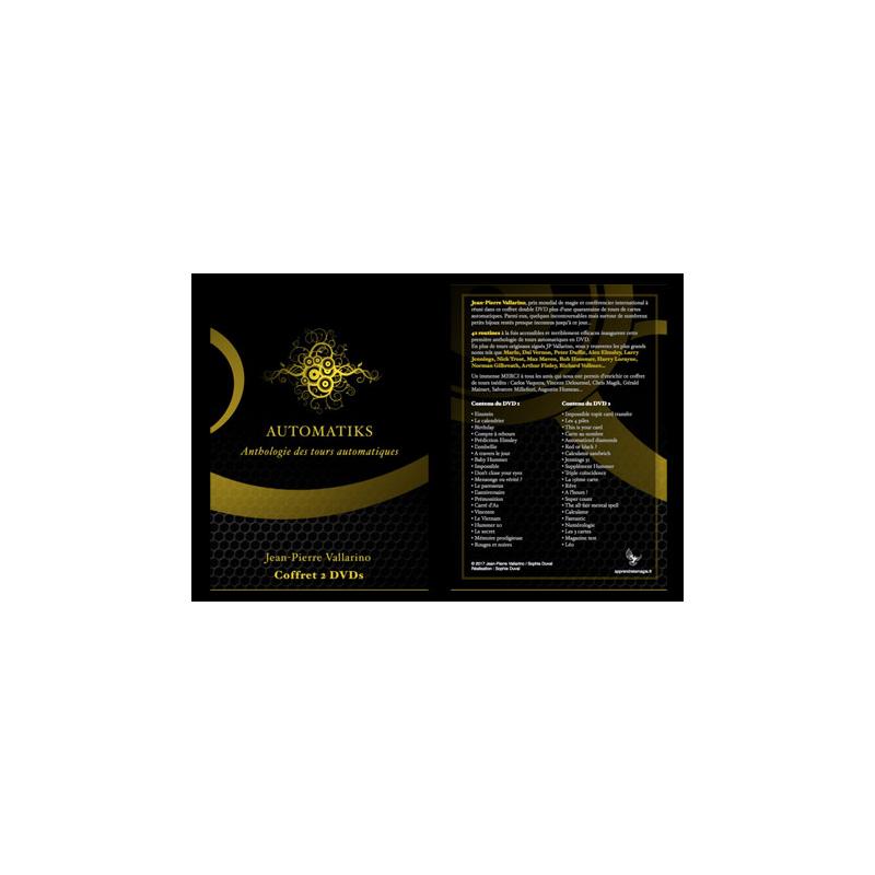 DVD AUTOMATIKS - encyclopédie des tours automatiques - JP VALLARINO