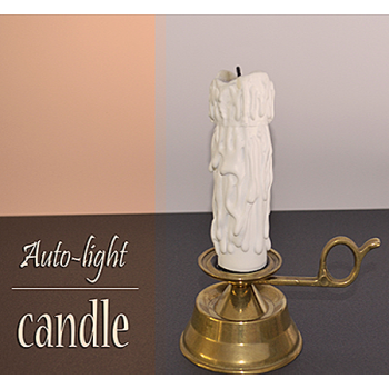 Auto-light Candle Sorcier Magic !!!