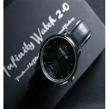 Infinity Watch V2 - Silver Case Black