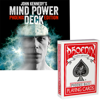 Mind Power deck john Kennedy - Card Shark