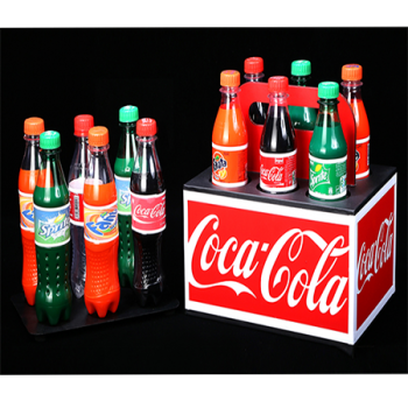 Disparition et apparition de soda -Transfer Soda Bottles - Tora Magic