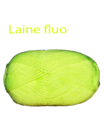 Recharge laine fluo