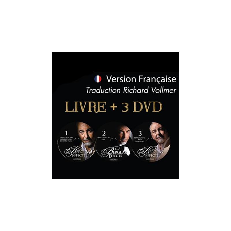 Livre + 3 DVD THE BERGLAS EFFECTS - Traduction Française