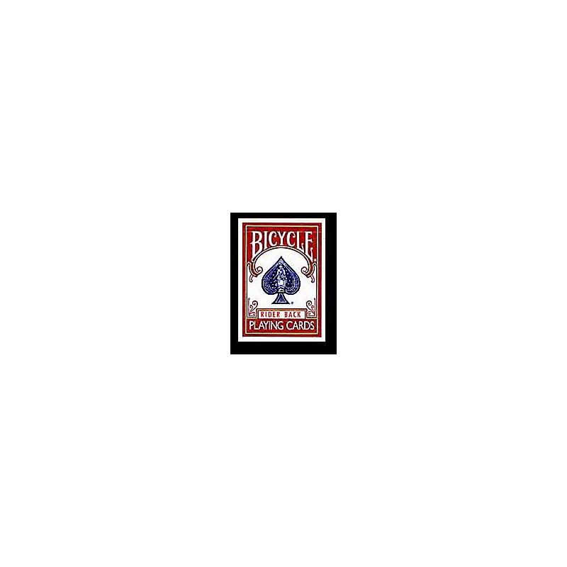 Etui vide  Bicycle rouge