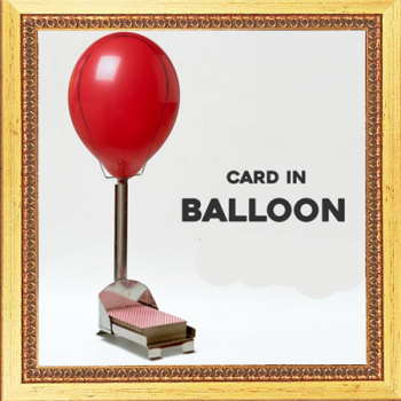 Carte au ballon - card in balloon