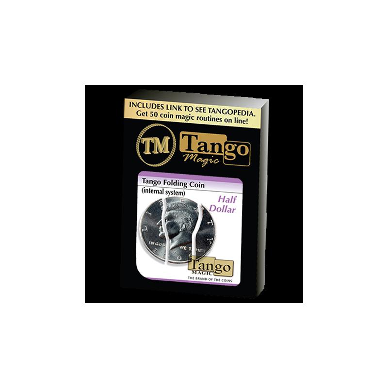 Piéce pliante 1/2 dollar - folding coin ( systéme interne ) tango