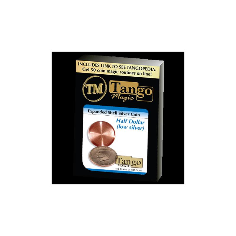 Coquille De Pièce demi Dollar silver ( tango )