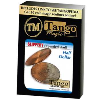 Slippery Expanded Shell (Half Dollar) by Tango