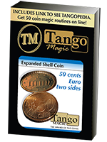 Coquille 50 centimes d'euro Double Face ( Tango )