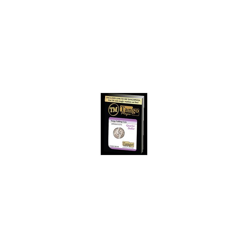 Piéce pliante quarter systéme interne - Folding coin ( tango )