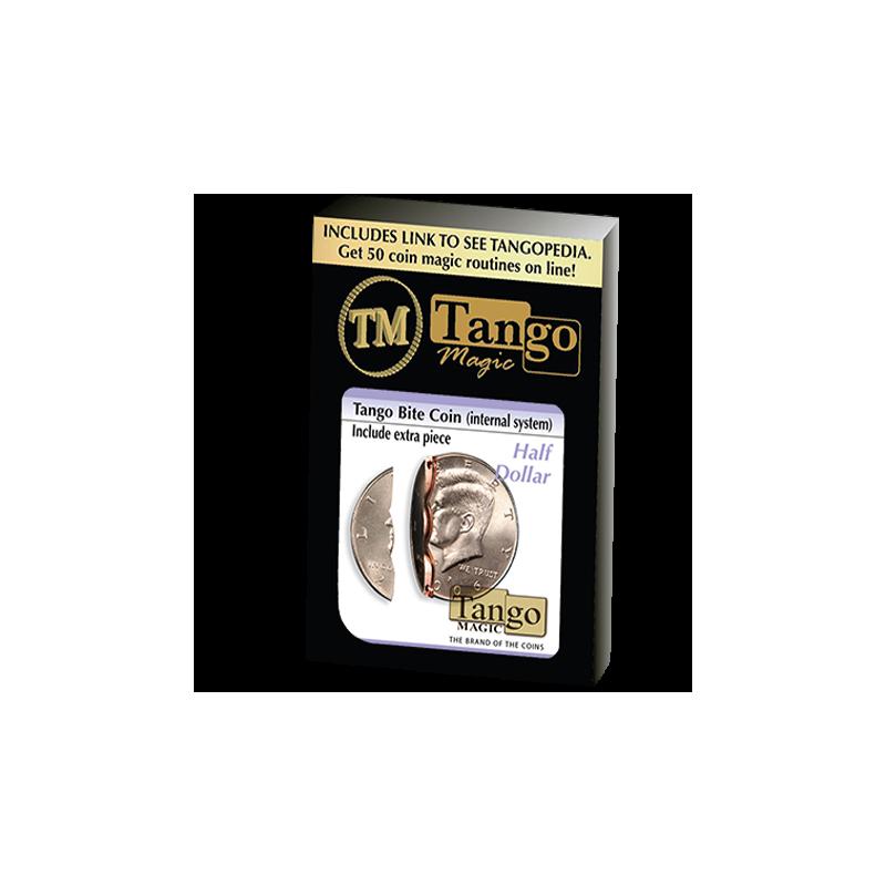 Pièce mordue 1/2 dollar ( internal system + extra pièce ) tango