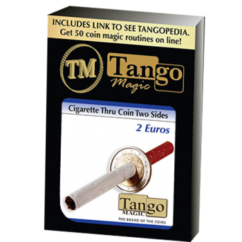 Cigarette a travers 2 euro two side ( tango )