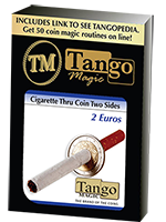 Cigarette a travers  two side 2 euro ( tango )