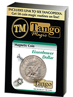 Magnetic coin (pièce magnétique) 1 Dollar Eisenhower (tango)
