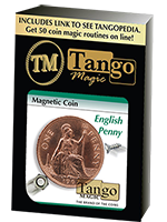 Magnetic coin (pièce magnétique) English Penny (tango)