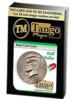 Pièce aimantable Steel Core Coin 1/2 dollar ( tango )
