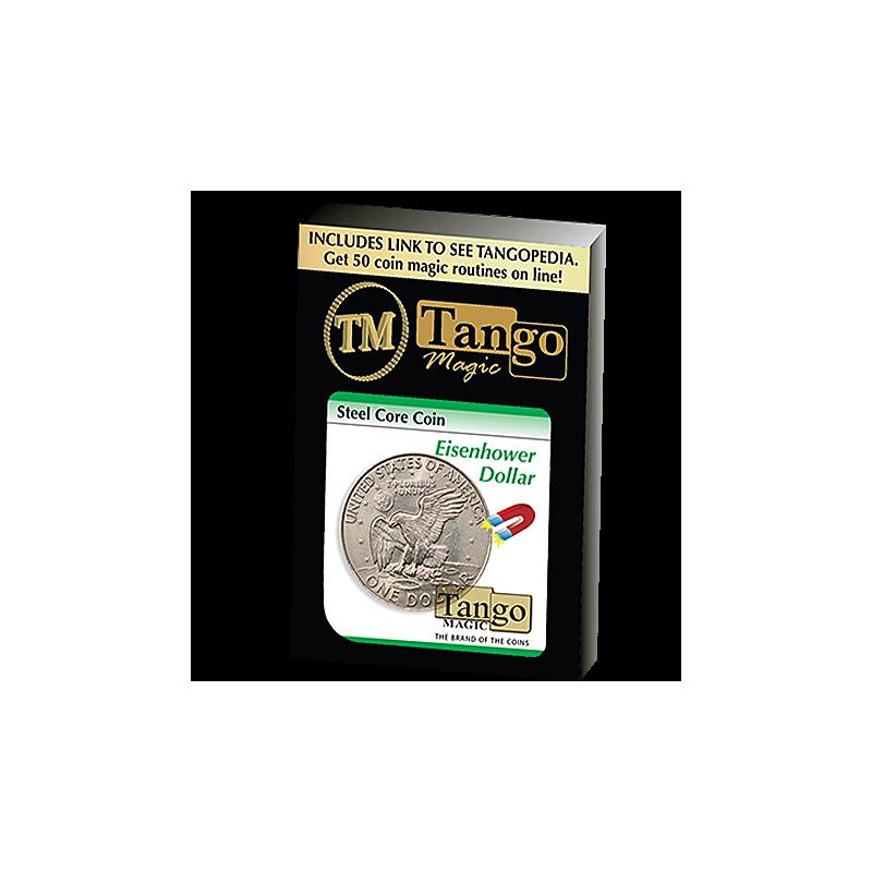 Pièce aimantable Steel Core Coin 1 dollar Eisenhower ( tango )
